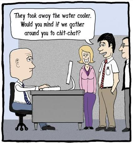 The funny side of the water cooler aquaid uk for Bureau humour