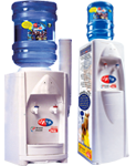 Bottle Fed Water Coolers, floor standing and desktop water coolers