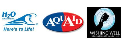 AquAid supports The Wishing Well Foundation and H2O International SA
