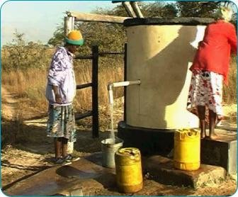 Water Coolers bring aid in the form of an Elephant Pump