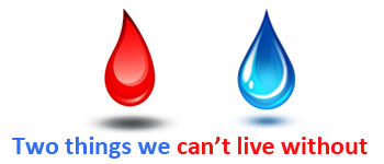 Life-giving Fluids – Blood and Water