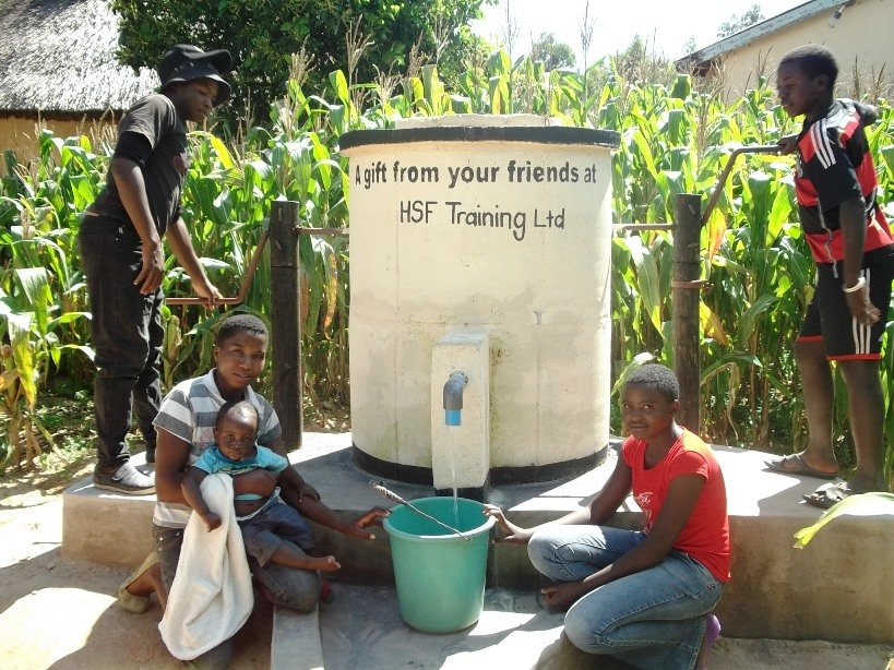 HSF Training builds an Elephant Pump in Liberia