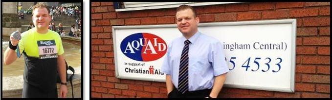 AquAid Birmingham Runs Towards Health – Again!