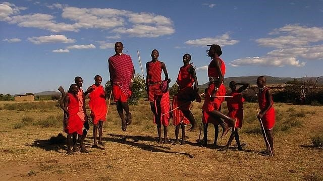 African Christmas.A Rather African Christmas With The Maasai Aquaid Uk