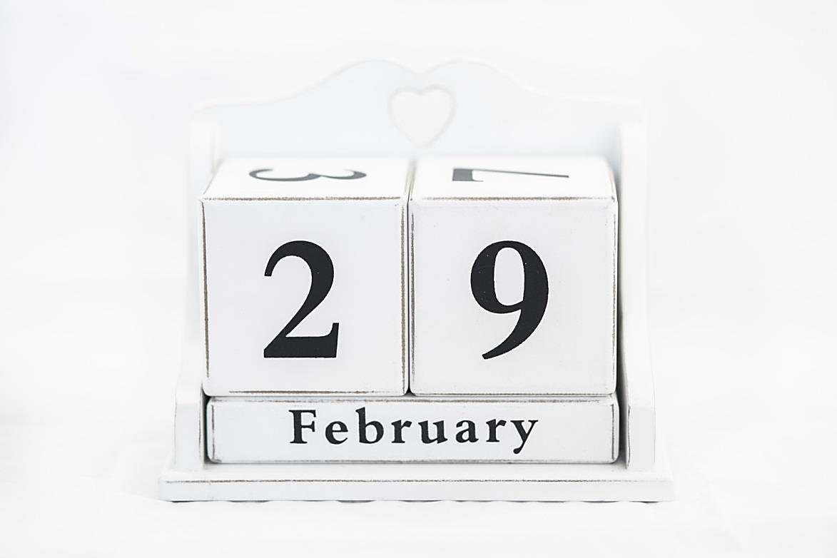 Leap Year Two Point Oh One Six!