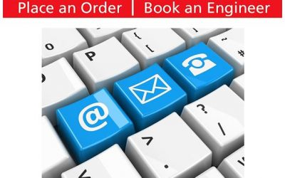 New feature online at AquAid – Place an Order / Book an Engineer