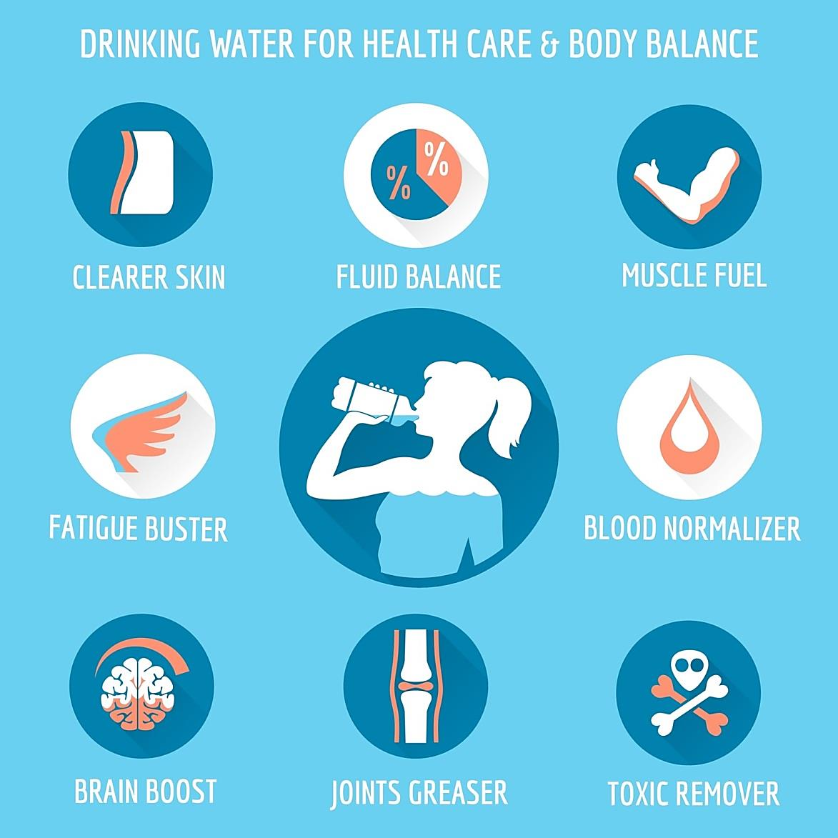 Water, your organs and your health