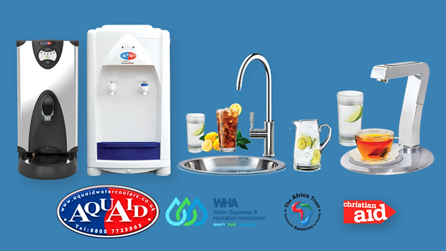 AquAid's Hot & Chilled Water Dispensers, Water Boilers and Instant Taps – Giving You More