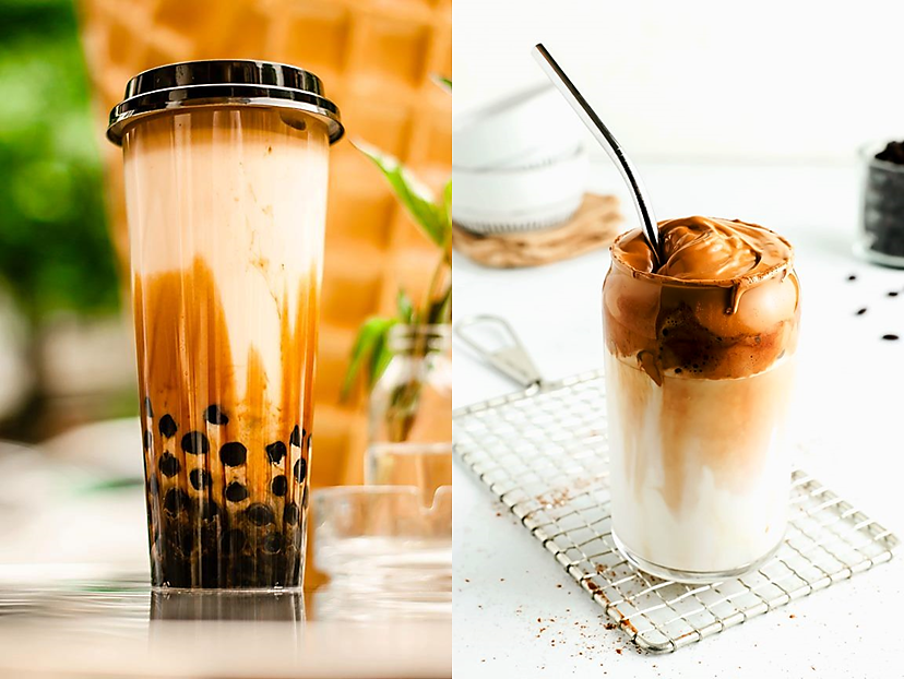 Innovation at the Water Cooler – Bubble Tea / Dalgona Coffee